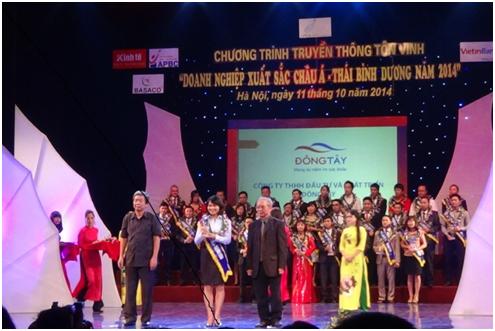 Công ty Đông Tây nhận giải doanh nghiệp Xuất sắc Châu Á – Thái Bình Dương
