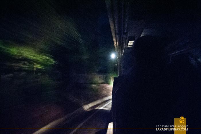 Riding the Tram at the Chiang Mai Night Safari