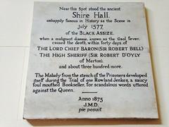 Photo of White plaque № 31797