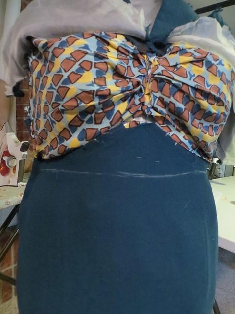front waistline
