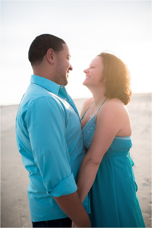 Cristen & Darius | Assateague Engagement