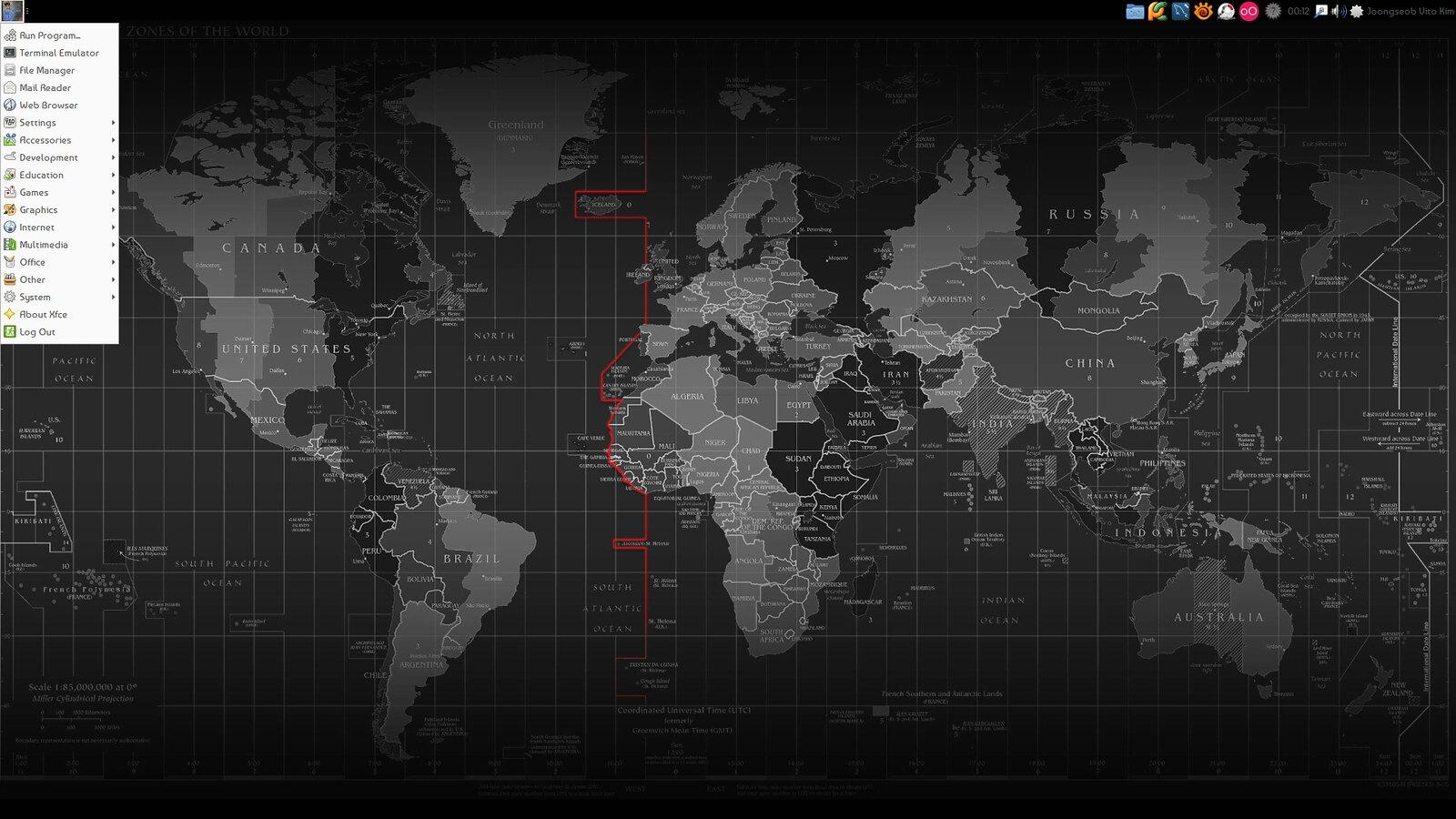 Xfce 환경-'Arch Linux에 LXQt 설치하기'