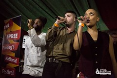 Young Fathers (featuring LAW) - The Spree, Paisley 18/10/14