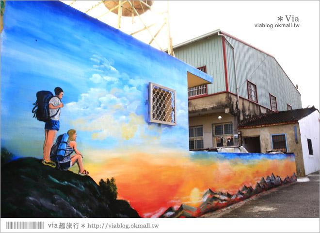 【關廟彩繪村】新光里彩繪村~在北寮老街裡散步‧遇見全台最藝術風味的彩繪村54