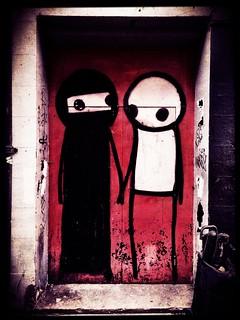 Street Art by Stik, Princelet Street