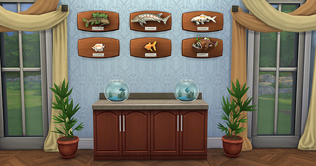 The Sims 4 Fishing Skill 4