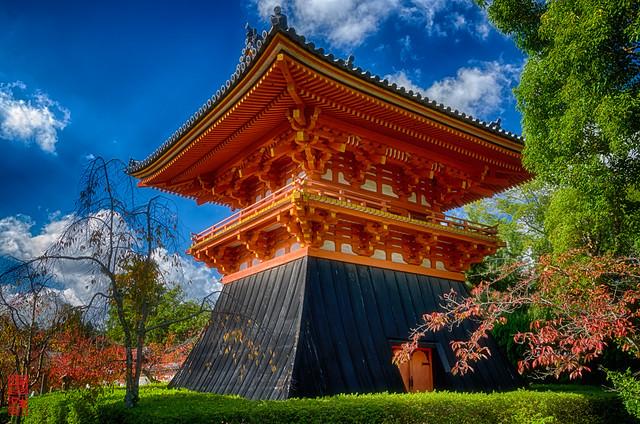 「鐘楼」 仁和寺 - 京都