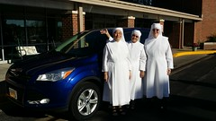 Little Sisters of the Poor buy a Royal Blue Escape #goroyals #royalssocial #takethecrown