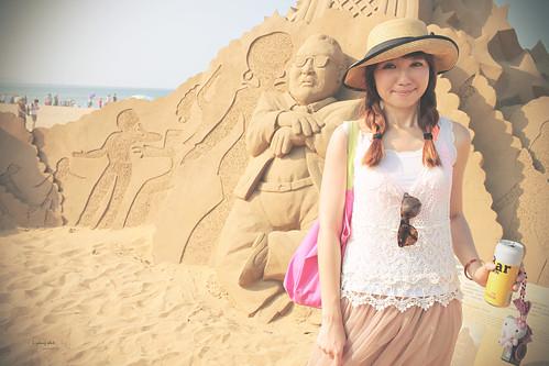 美少女的福隆沙雕艺术季