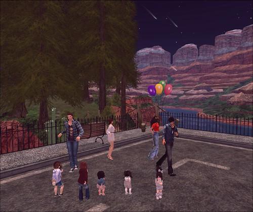 Family Street Dance