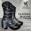 Wicca's Wardrobe - Cleora Boots [Storm]