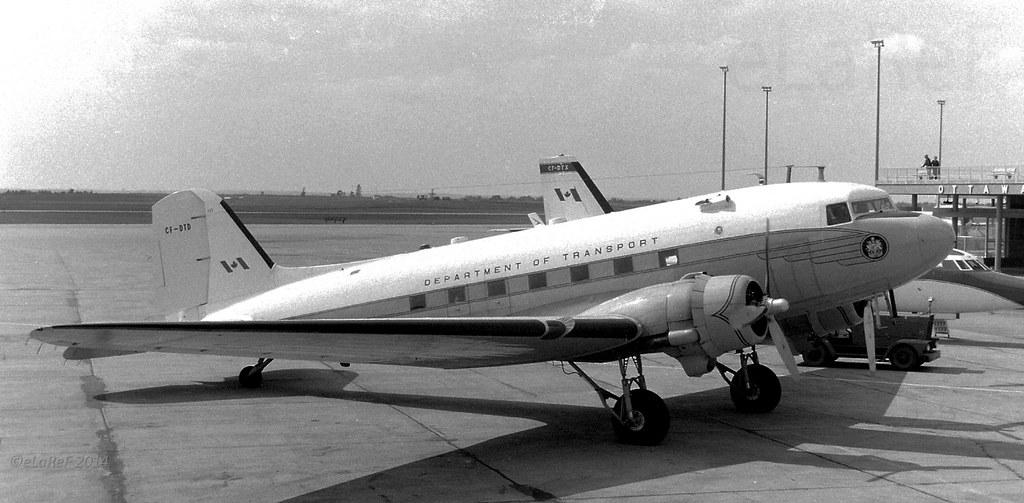 CF-DTD Douglas C-47A c/n 12253 ex 42-92451