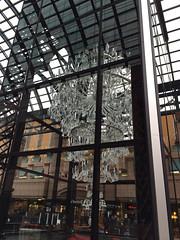 恵比寿ガーデンプレイスのバカラのシャンデリア2014