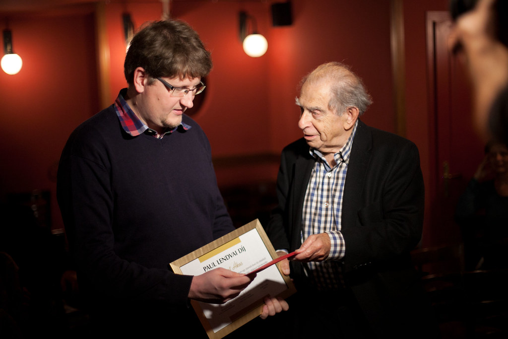 Albert Ákos Paul Lendvai-díjat kapott