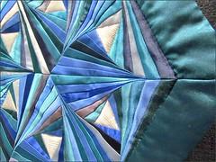 Firmament quilt, detail