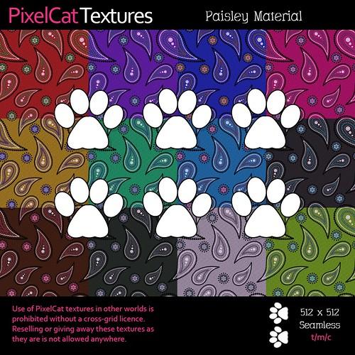 PixelCat Textures - Paisley Material