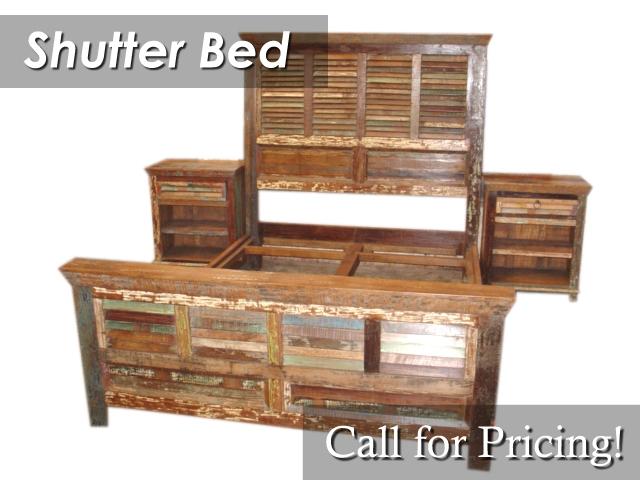 BDPJ05 Shutter Bed