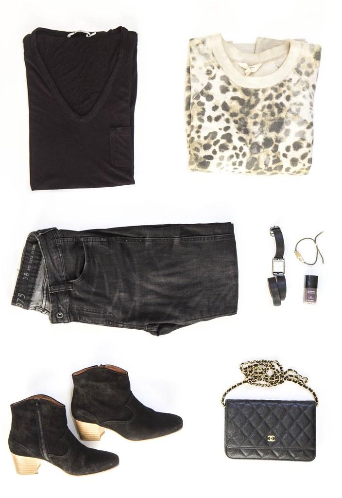 black tee black pants 2.1