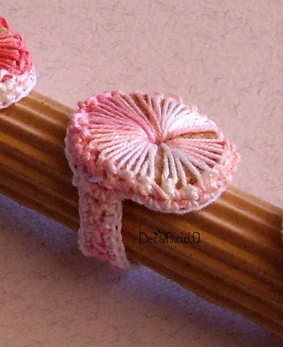 anelli di sughero e cotone 1