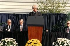 Dedication- UF President John Lombardi