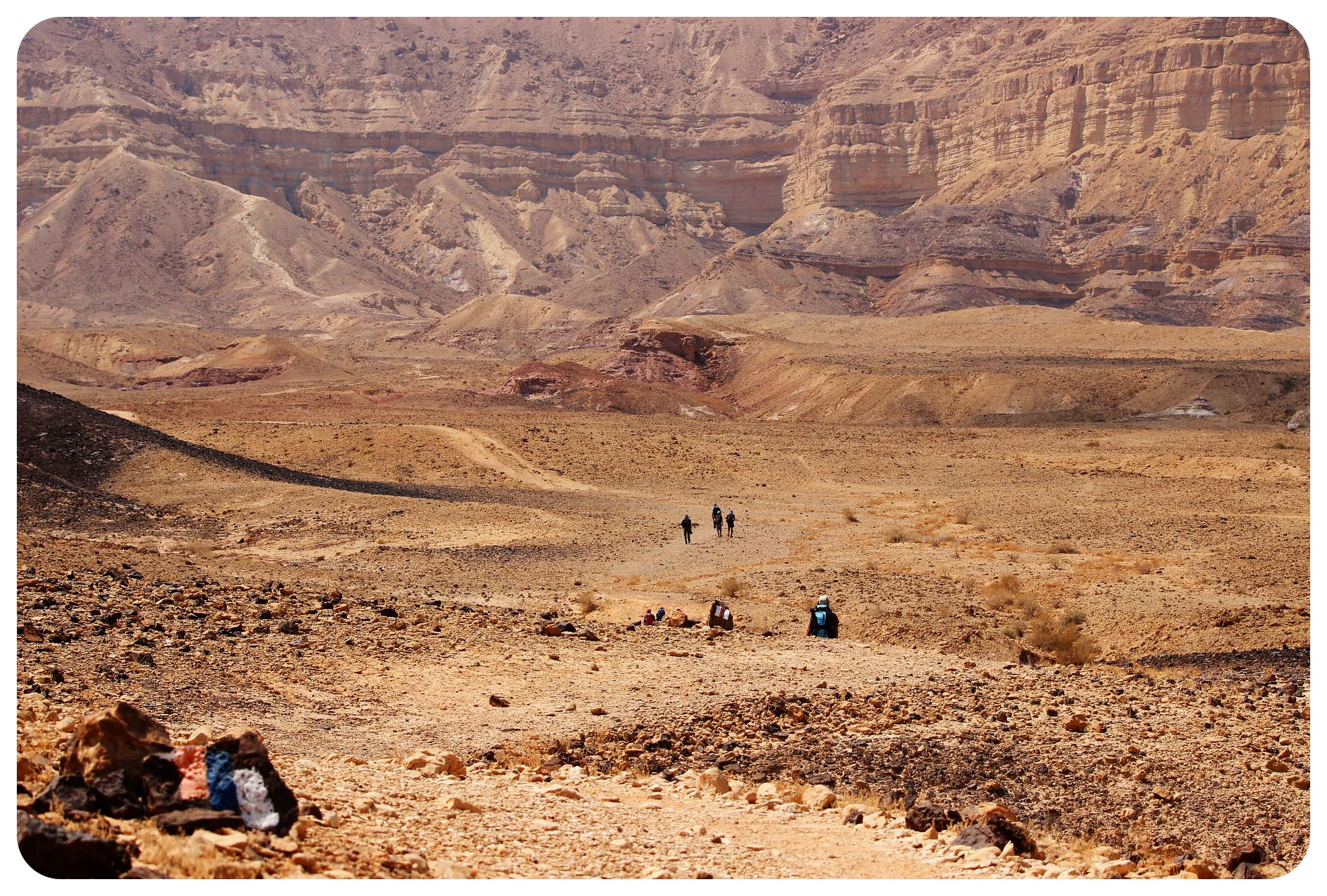 israel national trail negev desert
