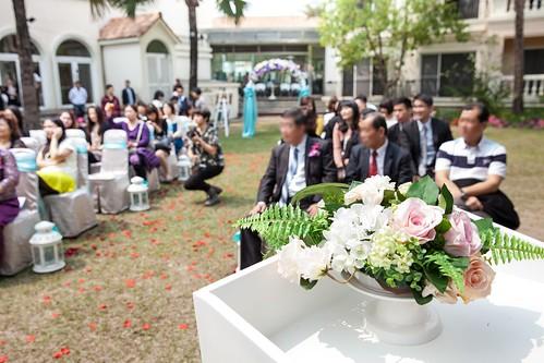 台南商務會館-一般戶外證婚儀式 (10)