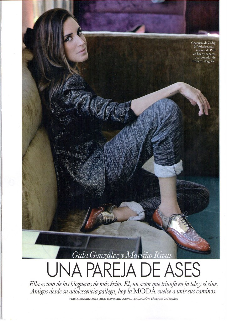 Martiño & Gala 10 years later... ELLE Spain feature