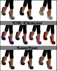 DE Designs - Karen Pumps