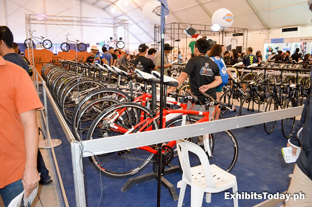 Bikes for Sale at the Phil-Bike Expo