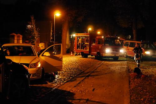 Einsatzübung Feuerwehr Ragow #2