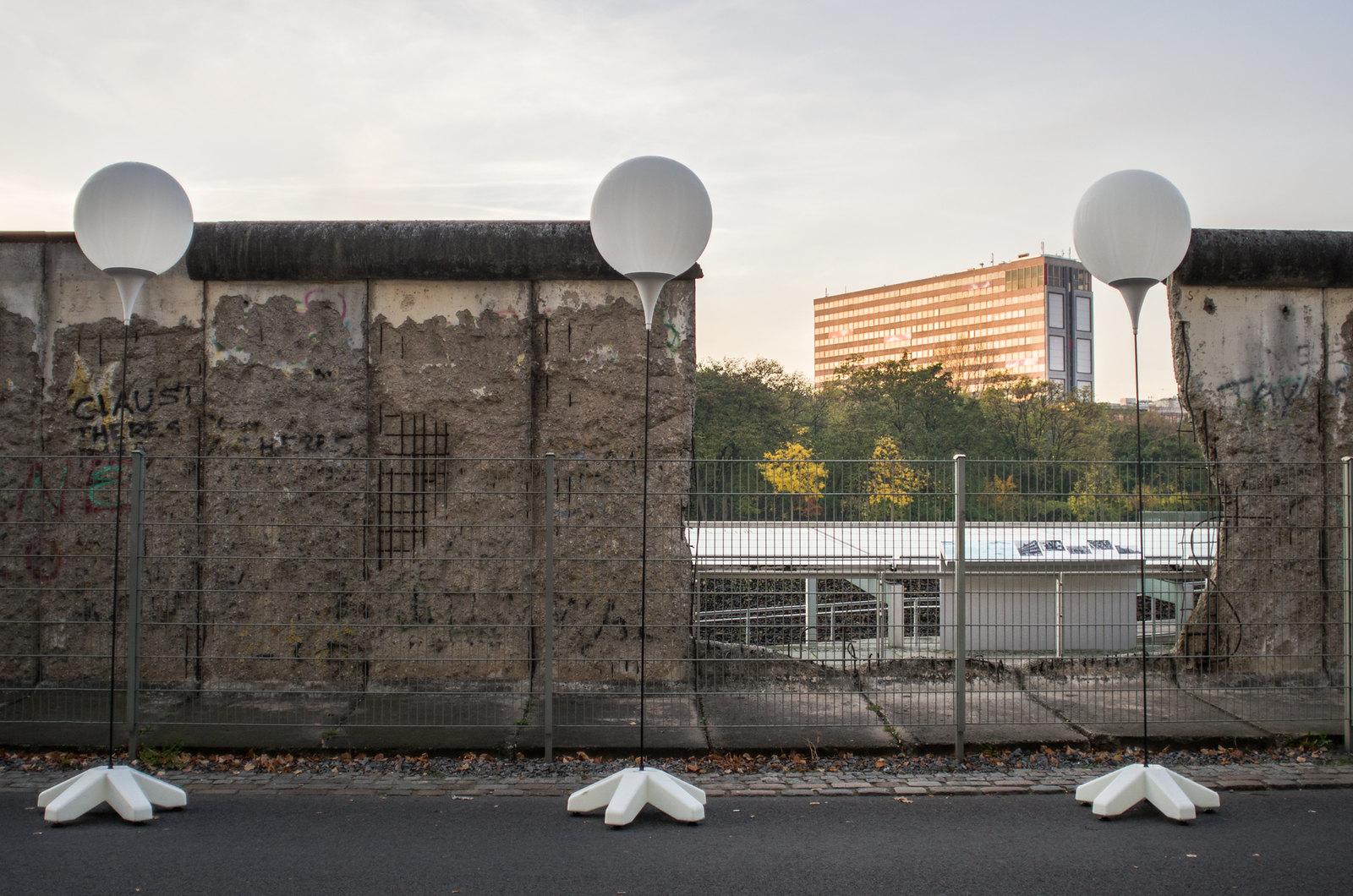 Mur de Berlin - Balade le long du mur