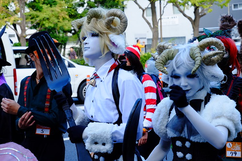 Kawasaki Halloween parade 2014 16