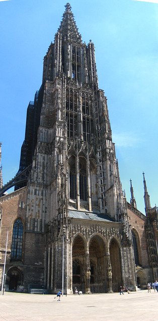 Ulmer Münster Tower, Panorama