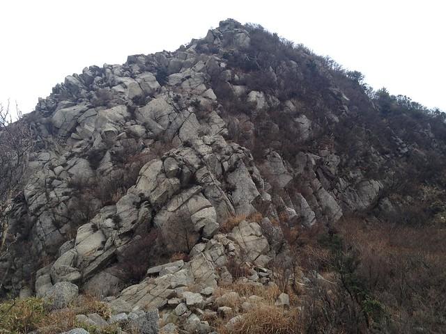鎌ヶ岳 県境稜線縦走路 南陵