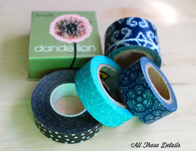 Choosing Washi Tape