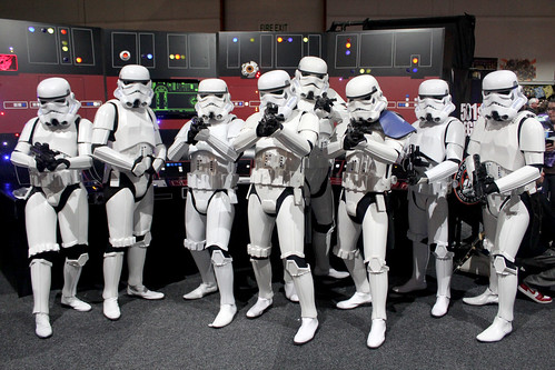 Stormtroopers at Armageddon Expo