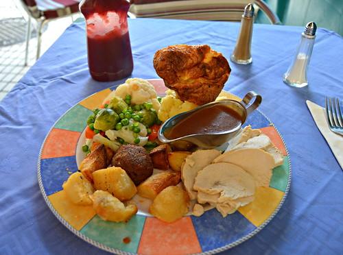 Roast dinner, The Olive Garden