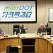 MassDOT posted a photo:	Robin Chase and Acting Secretary Frank DePaola join the MassDOT Board of Directors, November 2014.