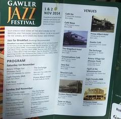 Gawler Jazz Festival 2014