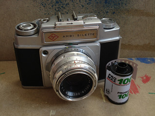 Agfa Ambi Silette and Pro Max film