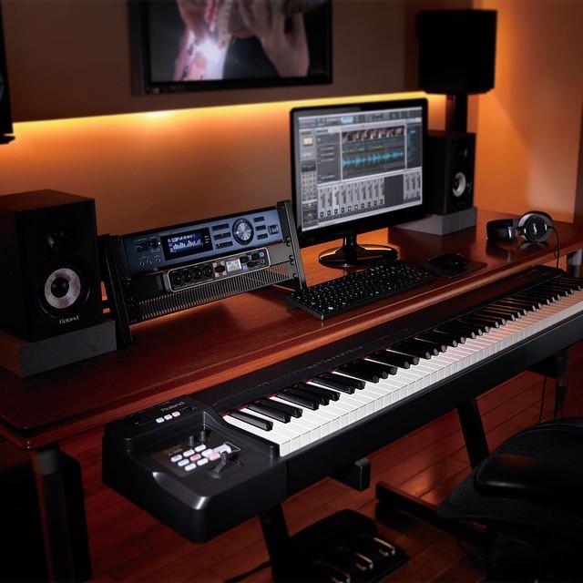 RolandLife Home Studio  A-88 Controller, #INTEGRA-7 #Supe… | Flickr