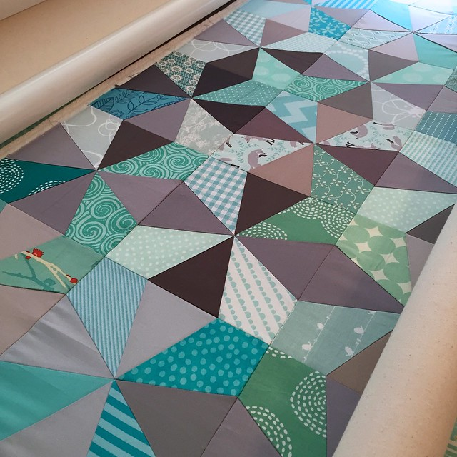 Quilt ready to longarm