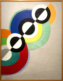 "Exposition Robert Delaunay ""Rythmes sans fin"" - Centre national d'art et de culture Georges Pompidou - Paris"