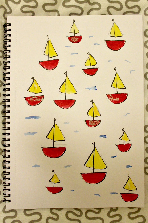 boats illustration
