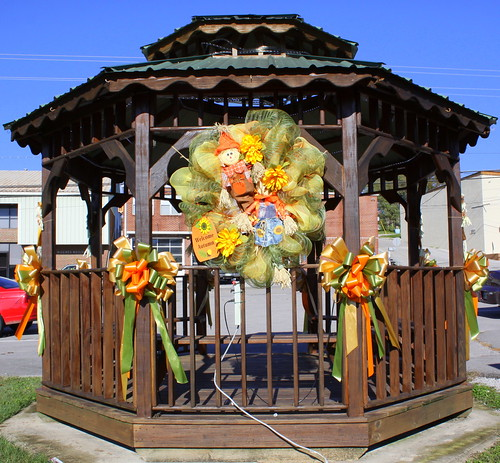South Carthage Gazebo in Autumn
