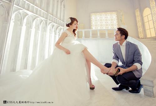 高雄KISS九九麗緻婚紗韓風婚紗攝影分享 (18)