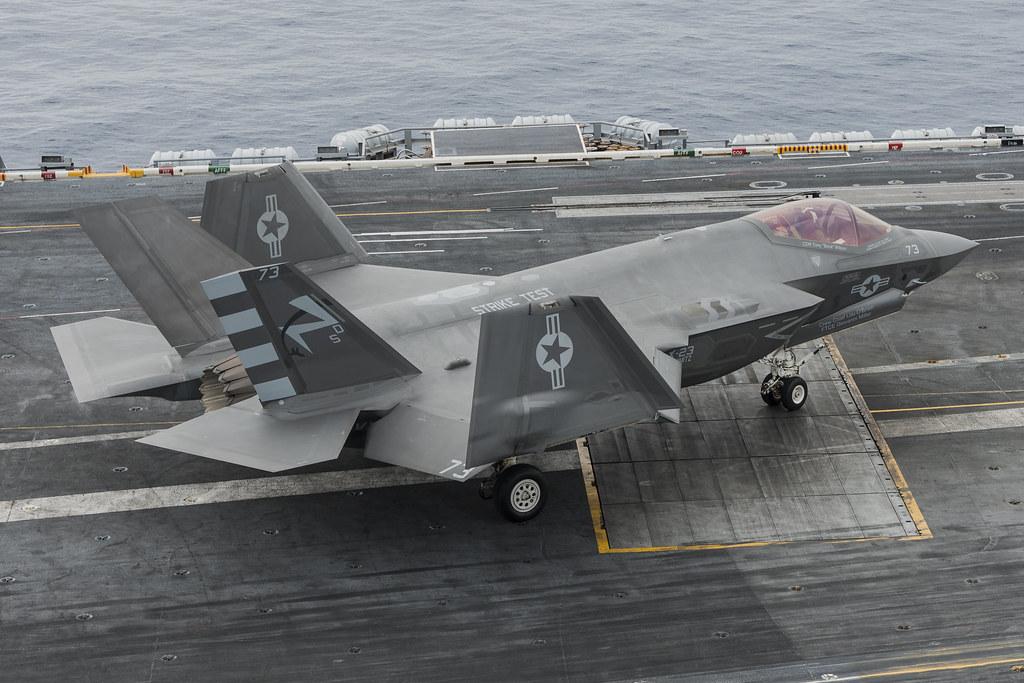 F-35C Sea Trials