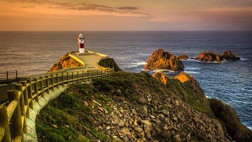 Faro de Cabo Ortegal, Galicia.