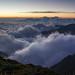 一樣的山 差不多的雲 不一樣的...