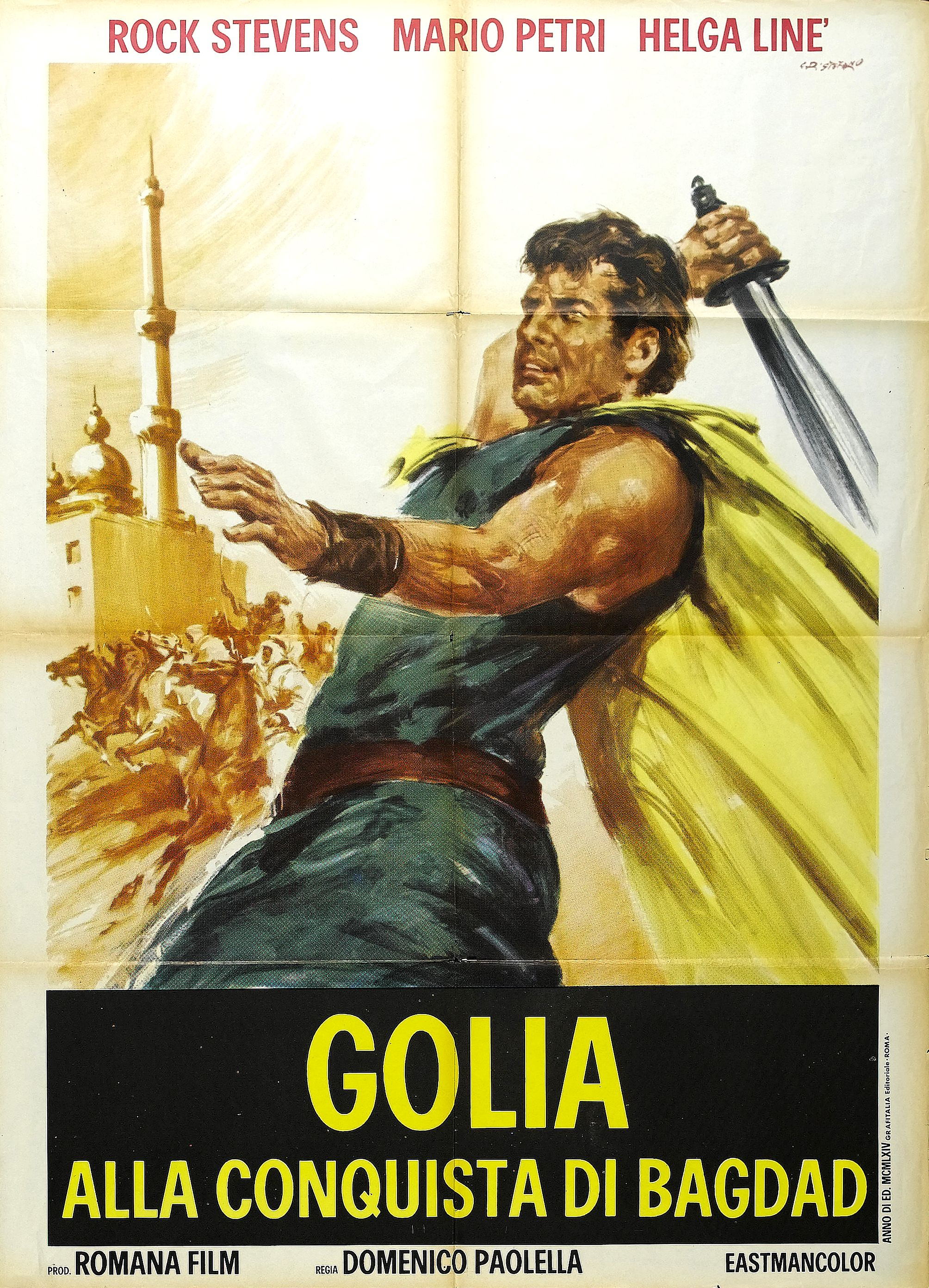 Goliath at the Conquest of Damascus (1965)